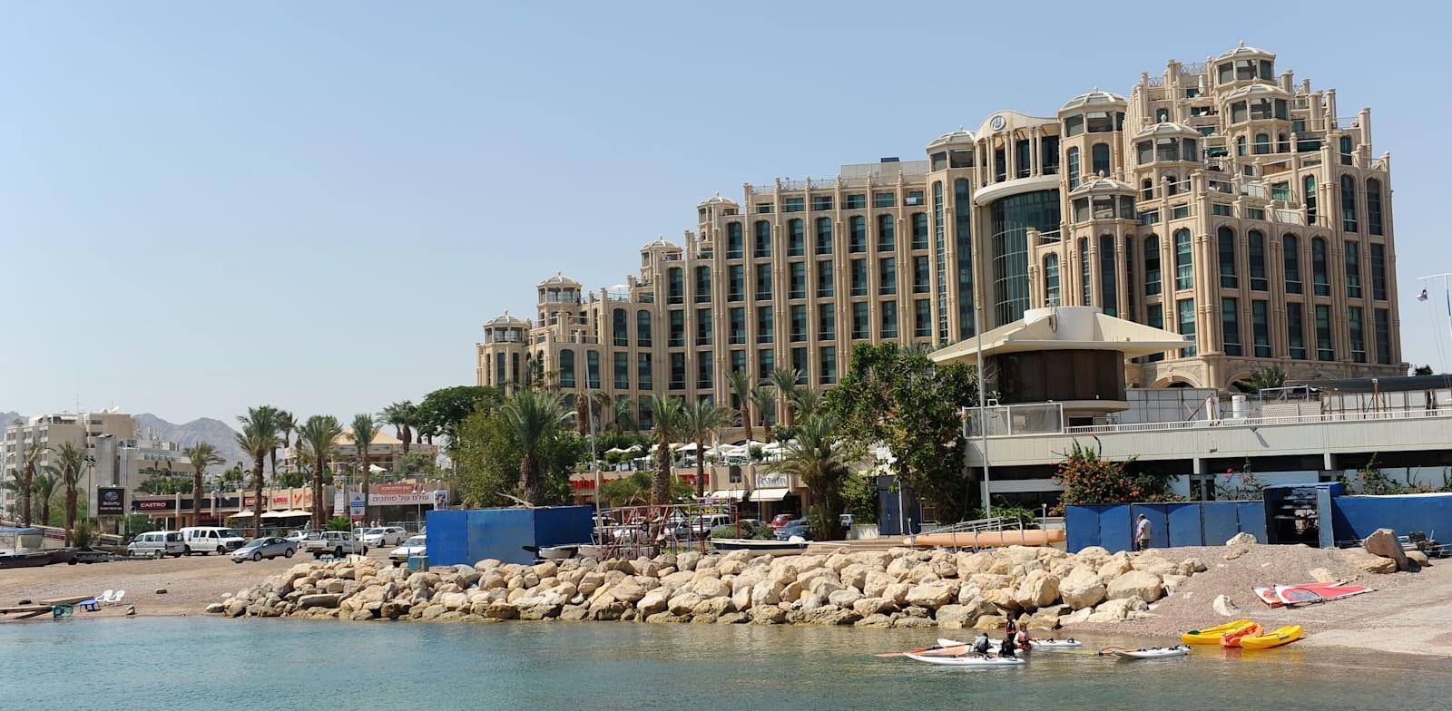 Queen of Sheba Eilat Hotel  credit: Tamar Matsafi