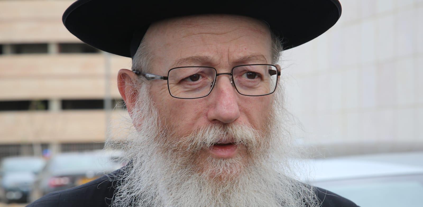 Yaakov Litzman  credit: Amir Gottfried