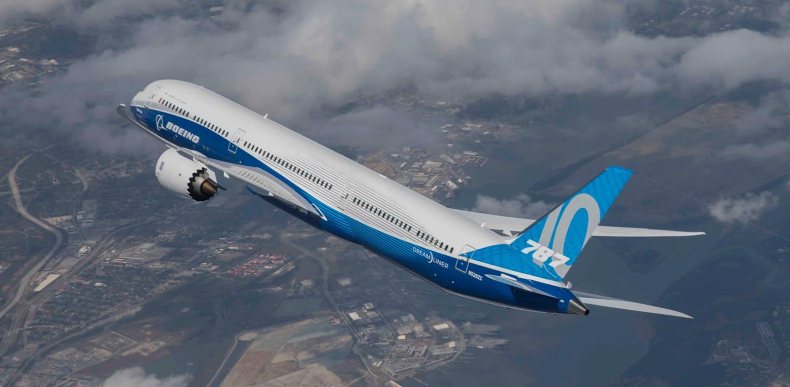 מטוס בואינג 787-10 / צילום: בואינג