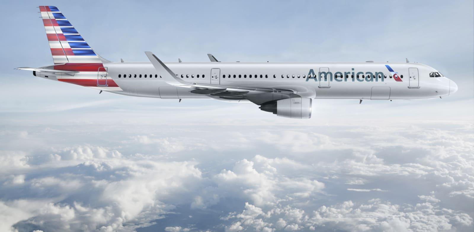 """מטוס אמריקן איירליינס / צילום: יח""""צ"""