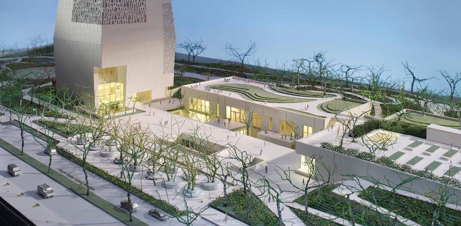 המרכז הנשיאותי על שם ברק אובמה, שיקגו / הדמיה: Obama Foundation