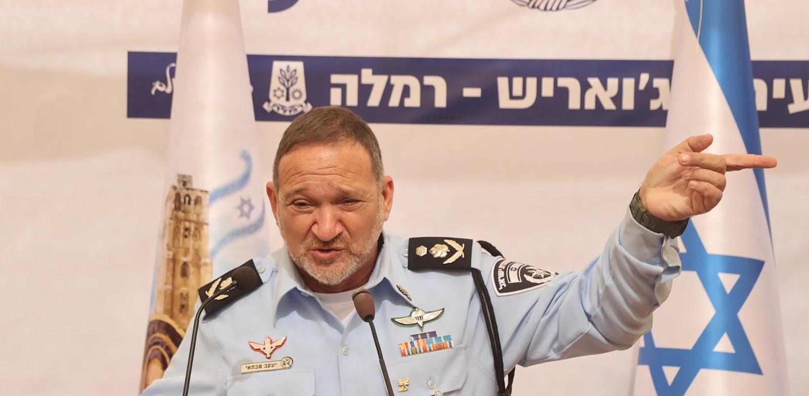 """מפכ""""ל המשטרה, רב-ניצב יעקב שבתאי / צילום: יריב כץ, """"ידיעות אחרונות"""""""