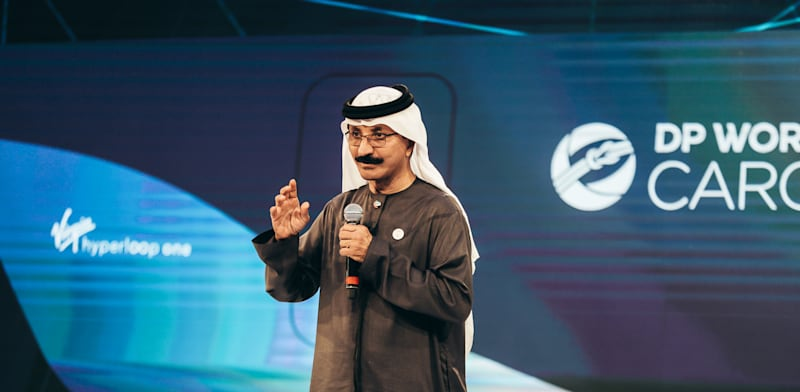 Sultan Ahmed bin Sulayem  credit: Reuters