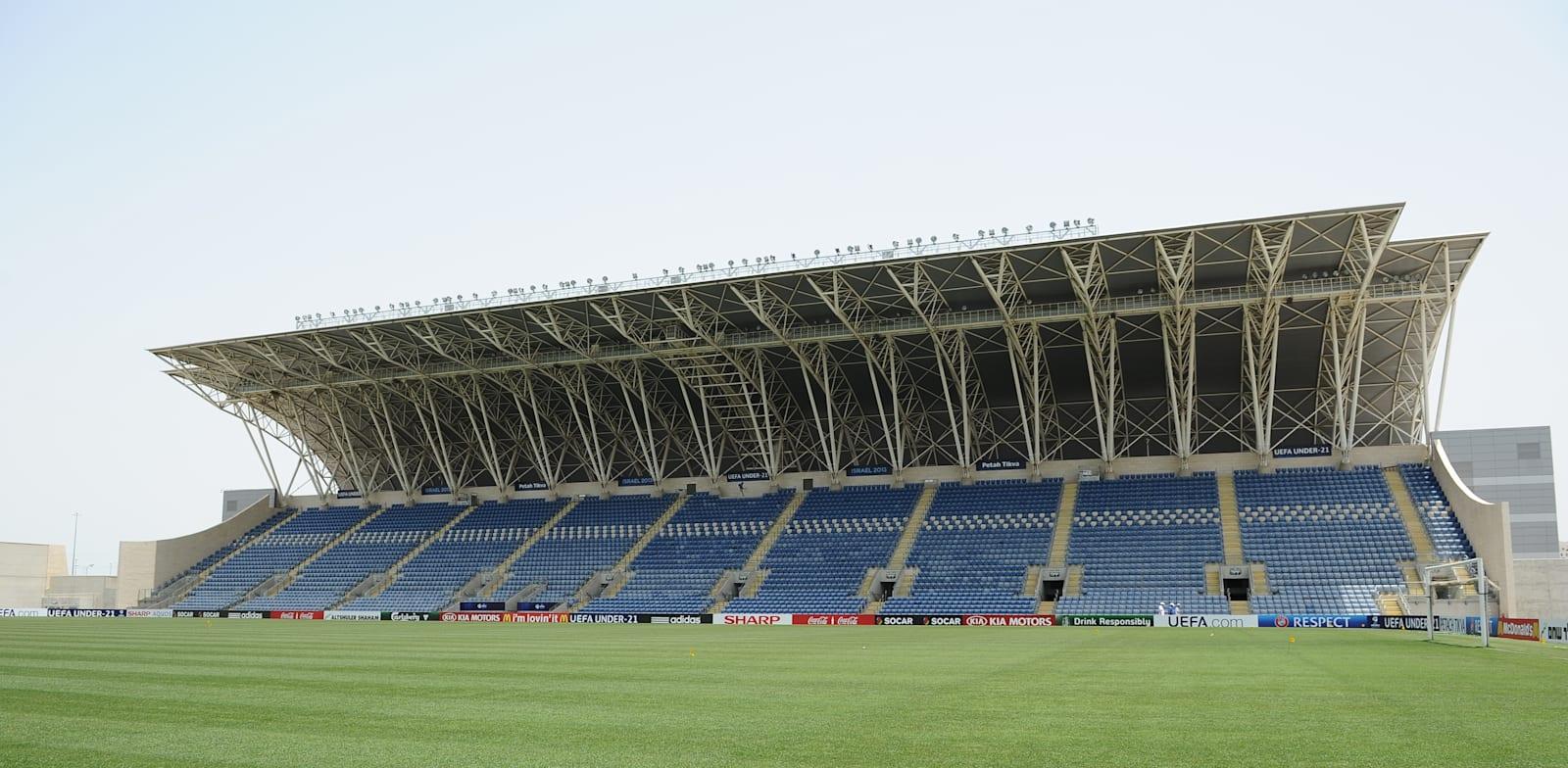 Shlomo Insurance Stadium Petah Tikva Photo: Tamar Matsafi