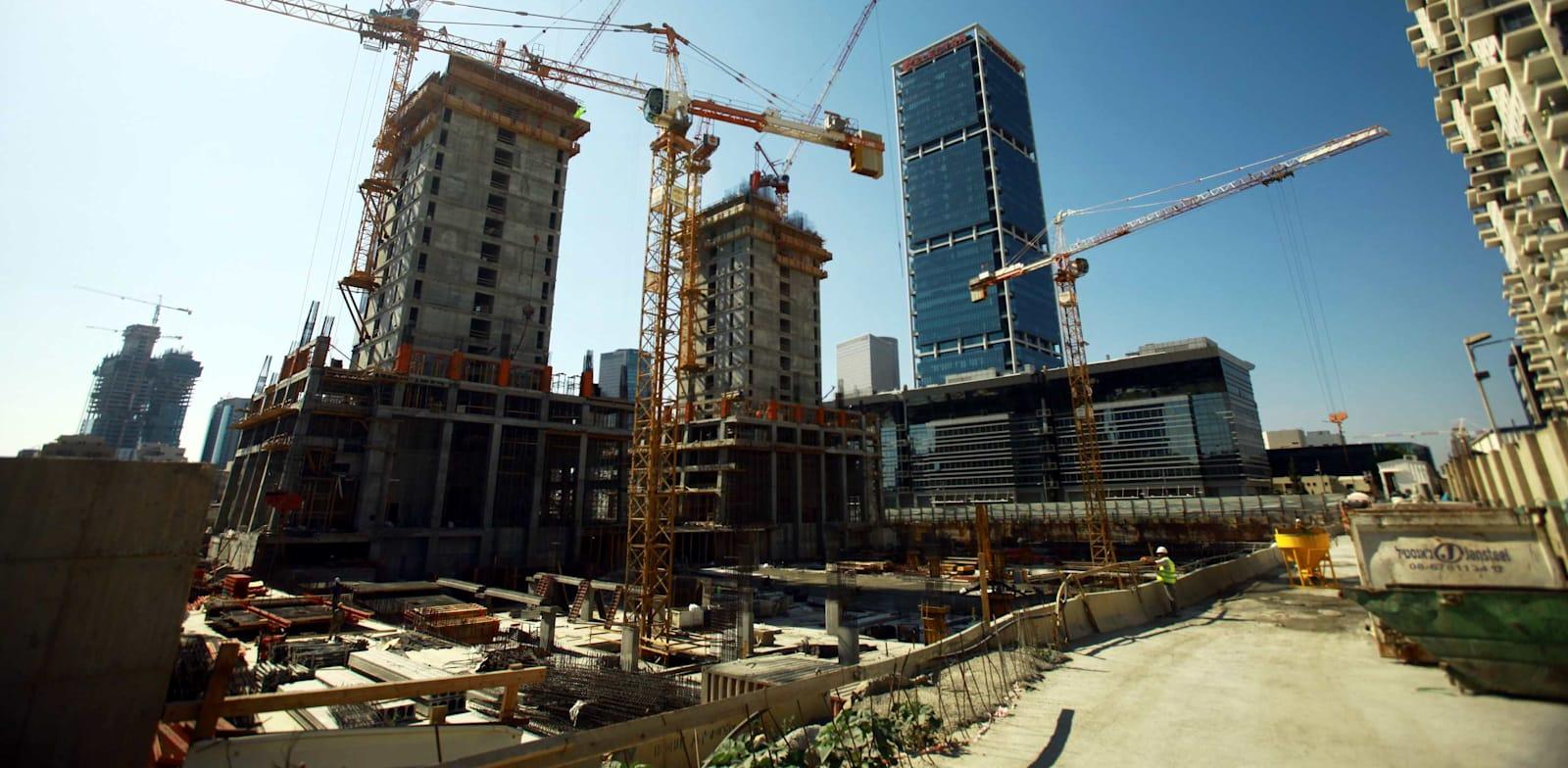 אתר בנייה / צילום: אמיר מאירי