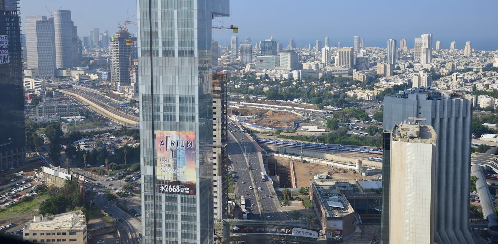 מגדל אטריום, רמת גן והסביבה / צילום: תמר מצפי