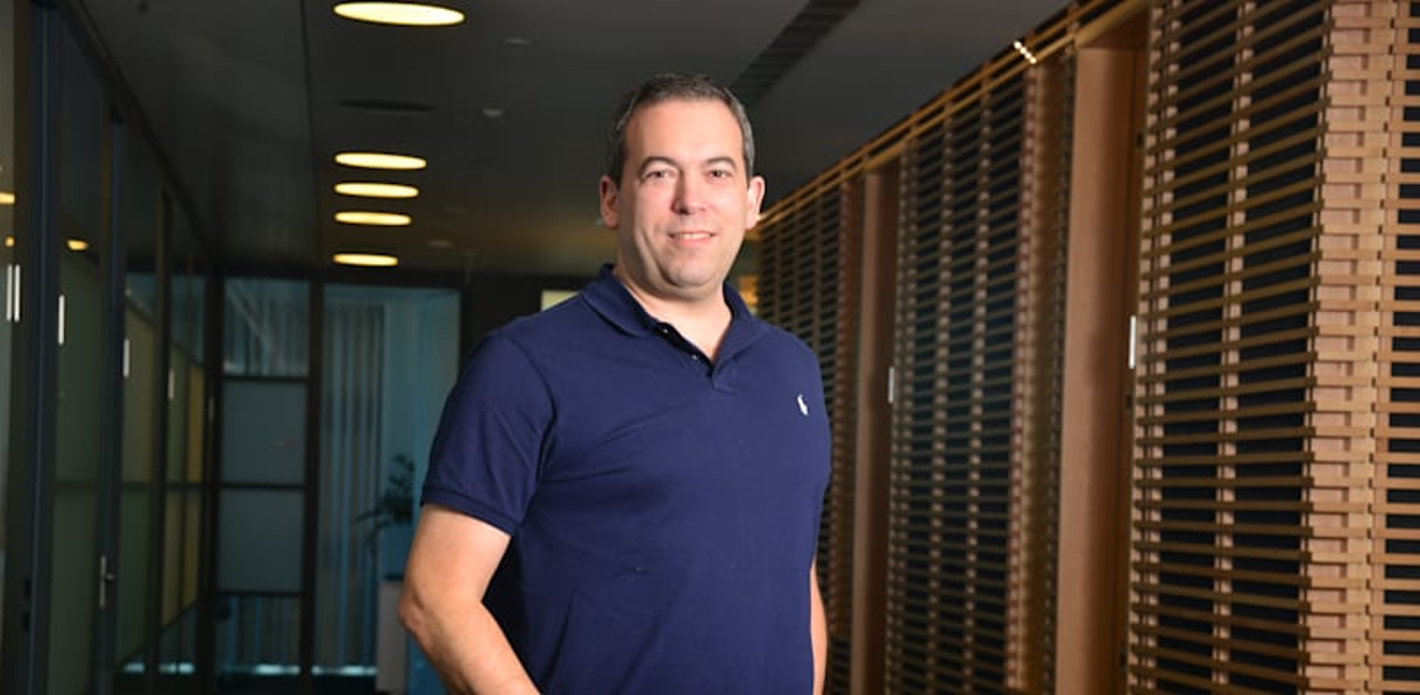 """ירון גלאי מייסד ומנכ""""ל משותף של אאוטבריין / צילום: תמר מצפי"""