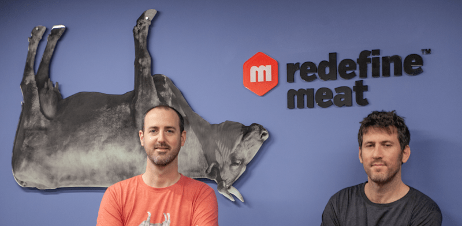 Redefine Meat founders Eshchar Ben-Shitrit and Adam Lahav