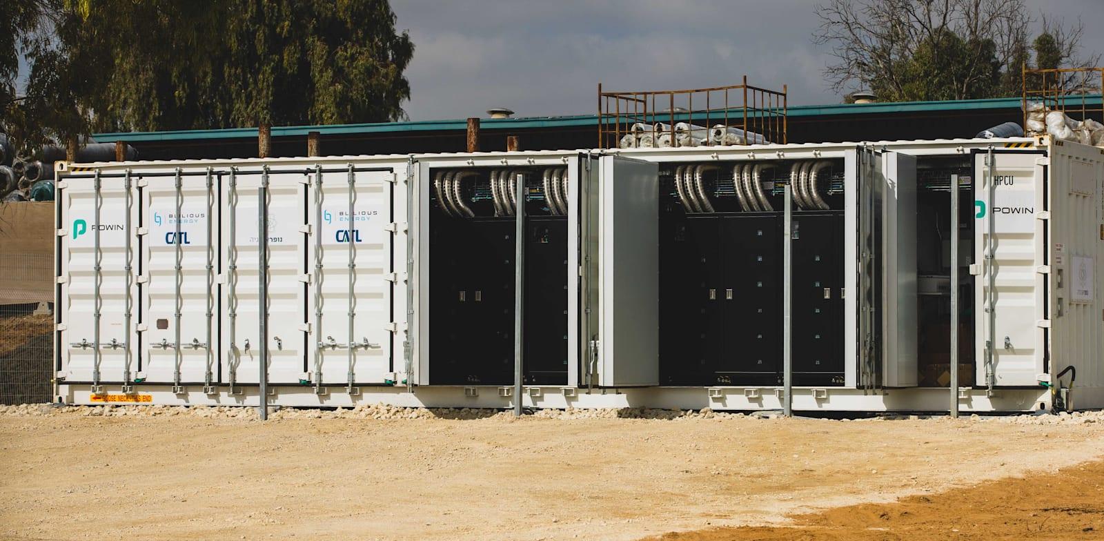 האוגר של חברת נופר אנרגיה / צילום: ארז עוזיר