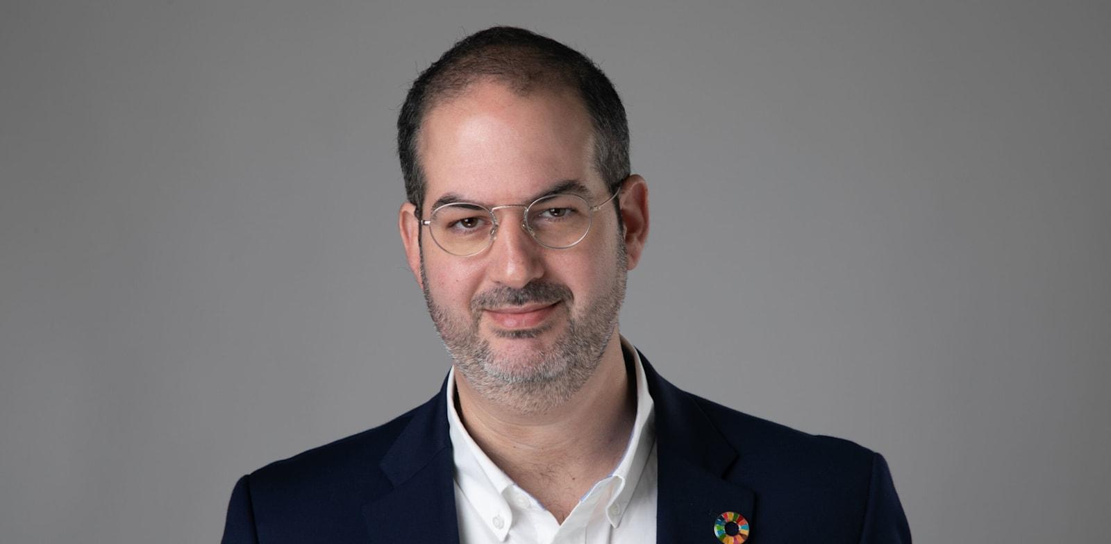 """זיו קינן, מייסד ומנכ""""ל סימטריה / צילום: יח""""צ"""
