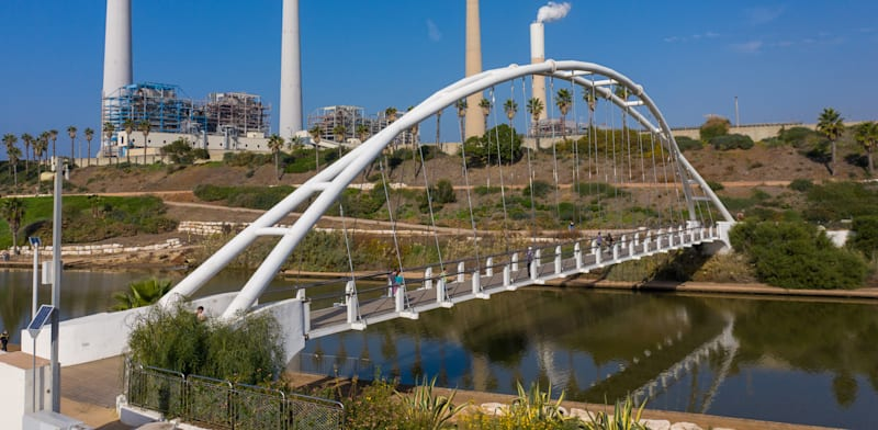 Hadera Power Station  credit: Shutterstock