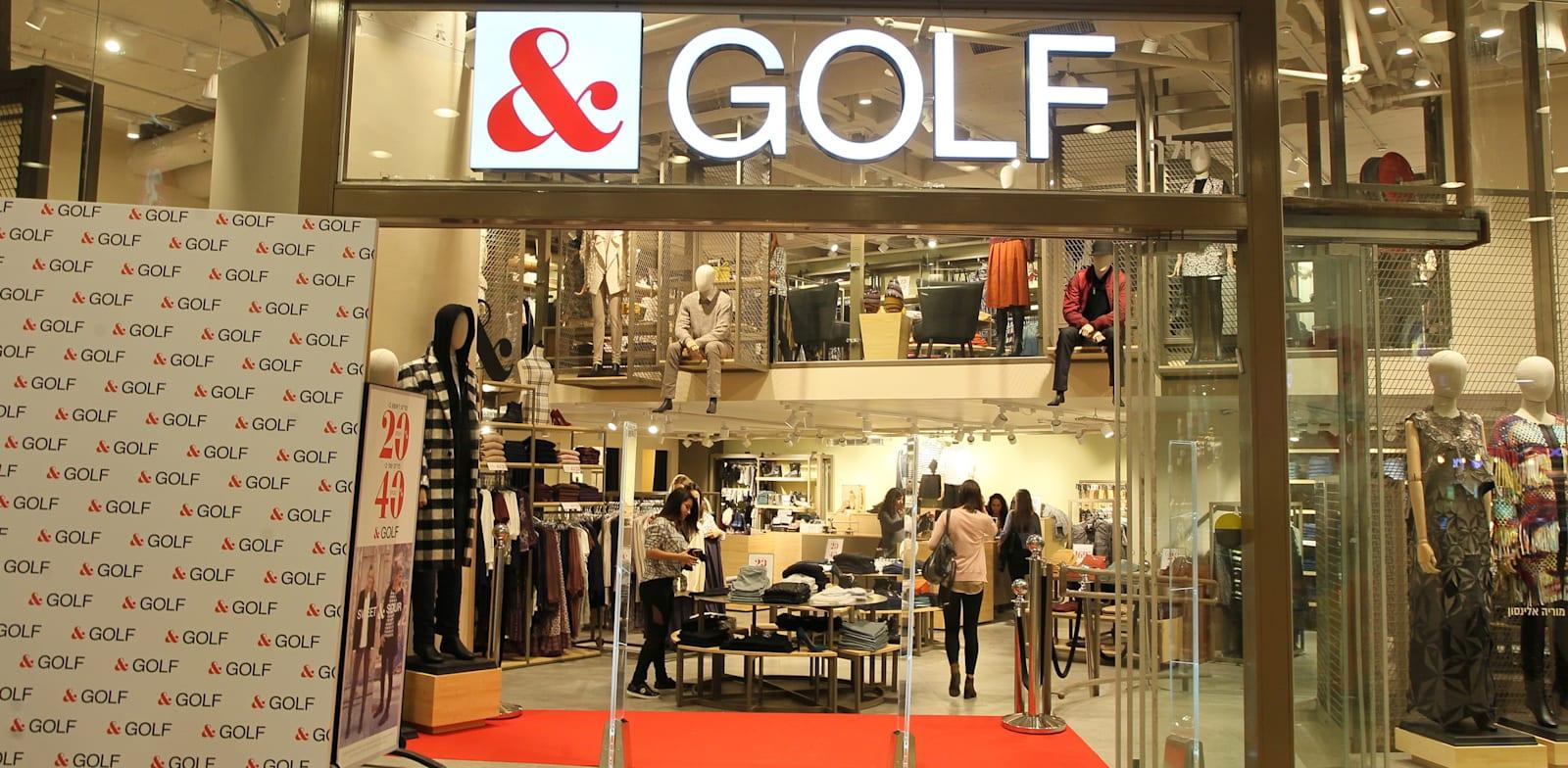 חנות גולף בדיזינגוף סנטר בתל אביב / צילום: ראובן שניידר