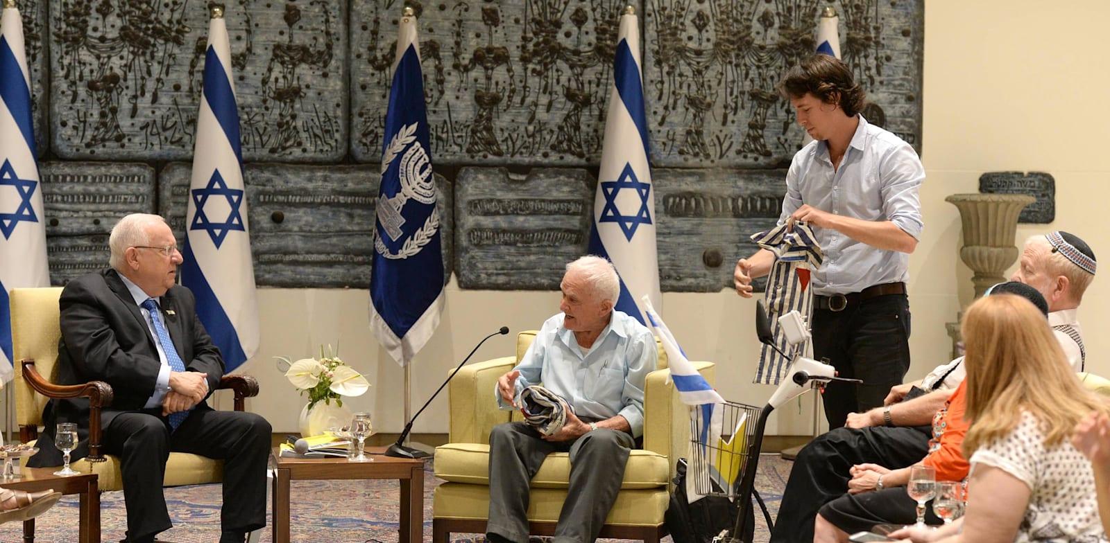 """""""זיכרון בסלון"""" בבית נשיא המדינה / צילום: מארק ניימן, לע''מ"""