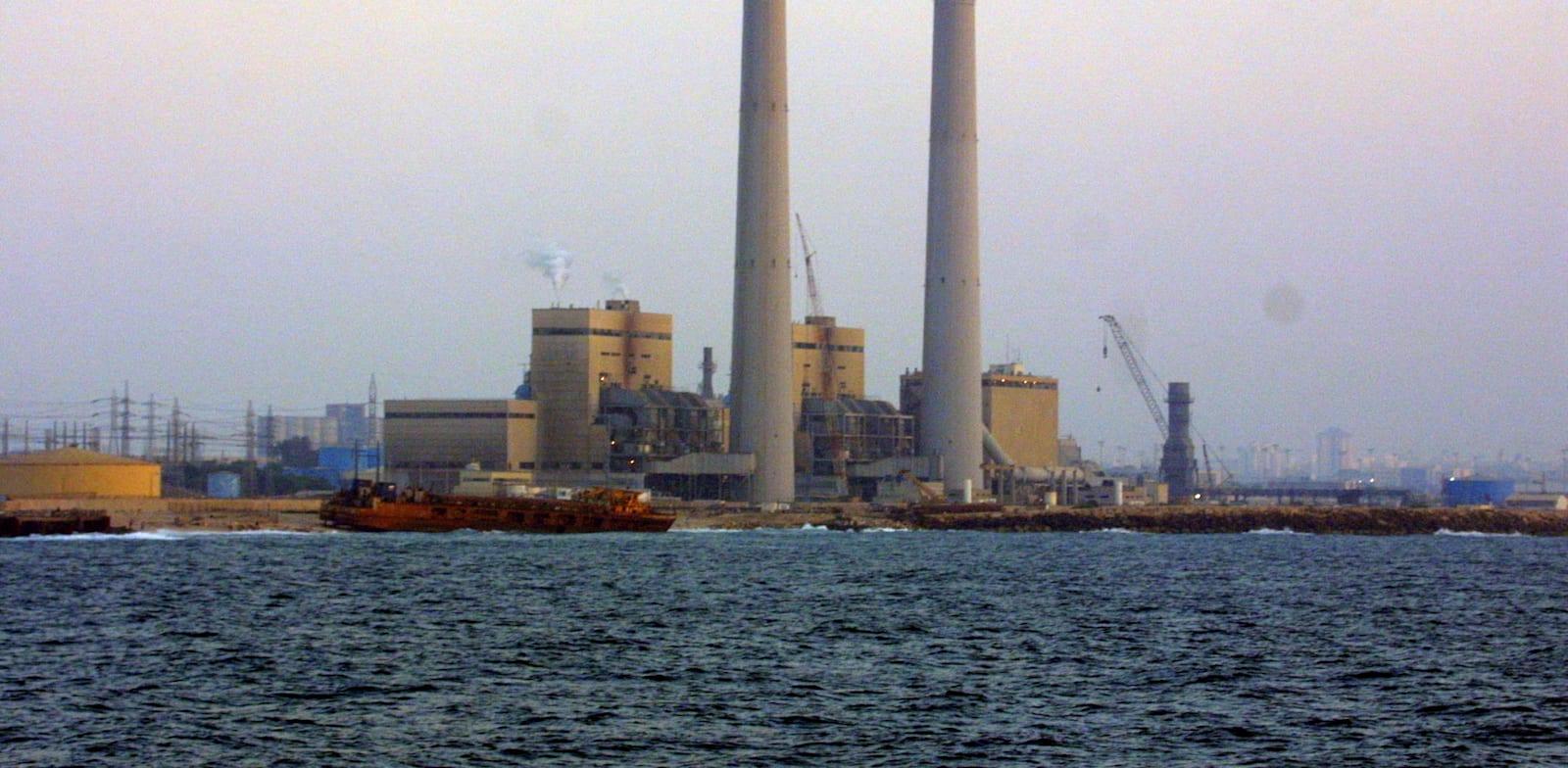 תחנת כוח אשכול / צילום: יוסי וייס חברת החשמל