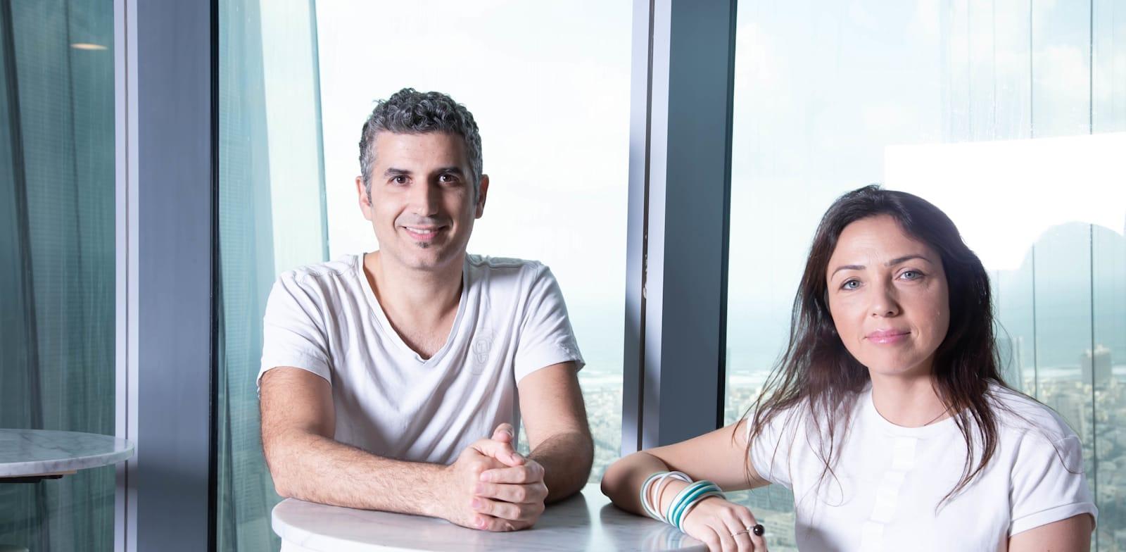 Lior Wilczynski and Rami Gabai Credit: Sari Oz