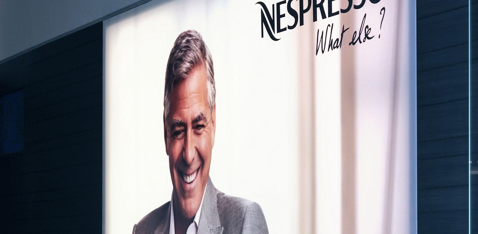 ג'ורג' קלוני, הפרזנטור של נספרסו / צילום: Shutterstock