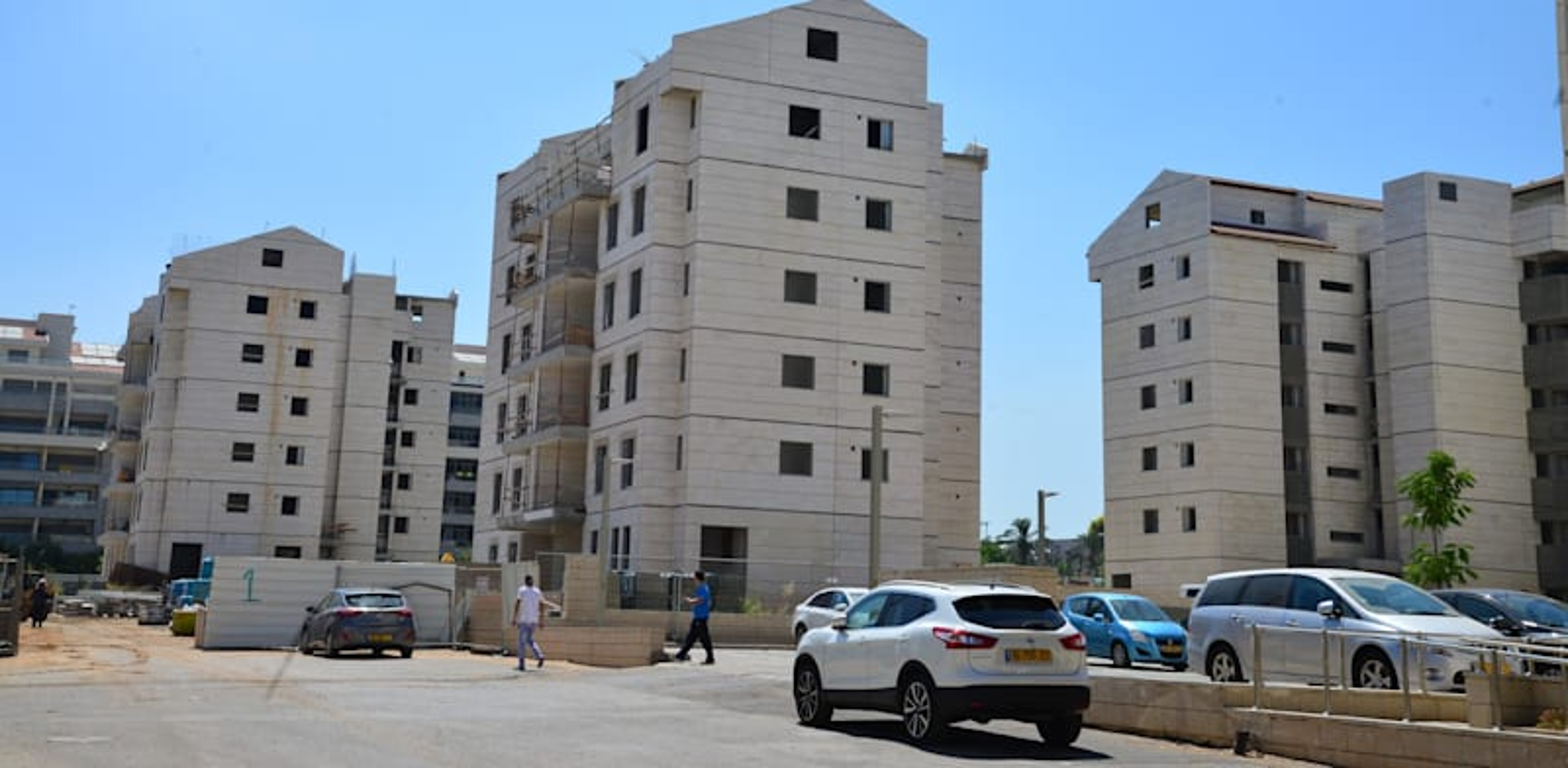 New apartments Photo: Tamar Matsafi