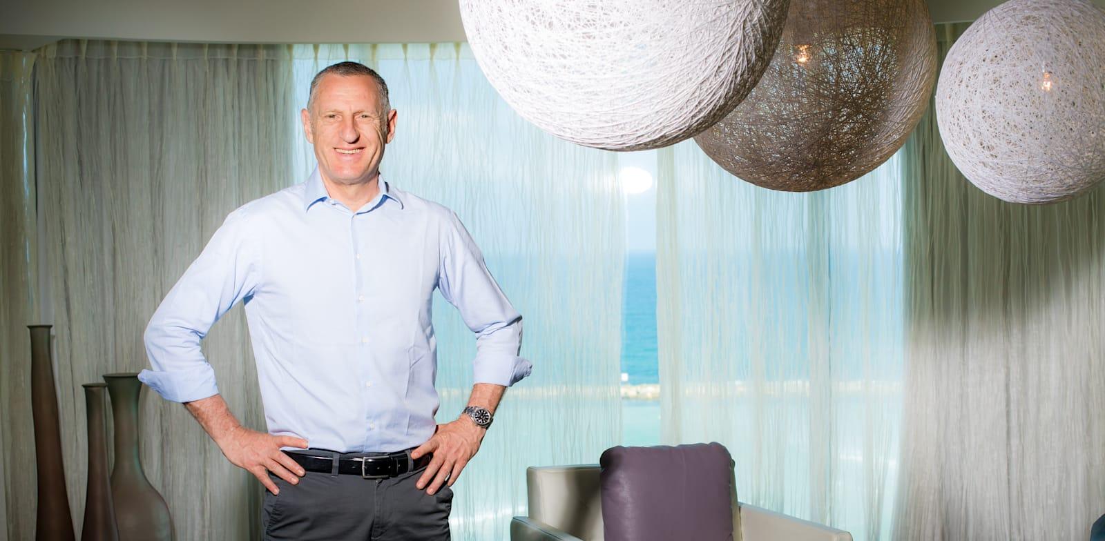Isrotel CEO Lior Raviv Photo: Arik Sultan