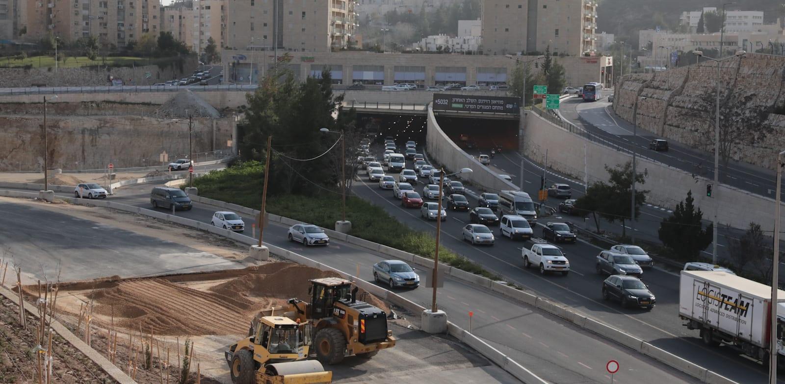 צומת שמואל בייט, ירושלים / צילום: יוסי זמיר