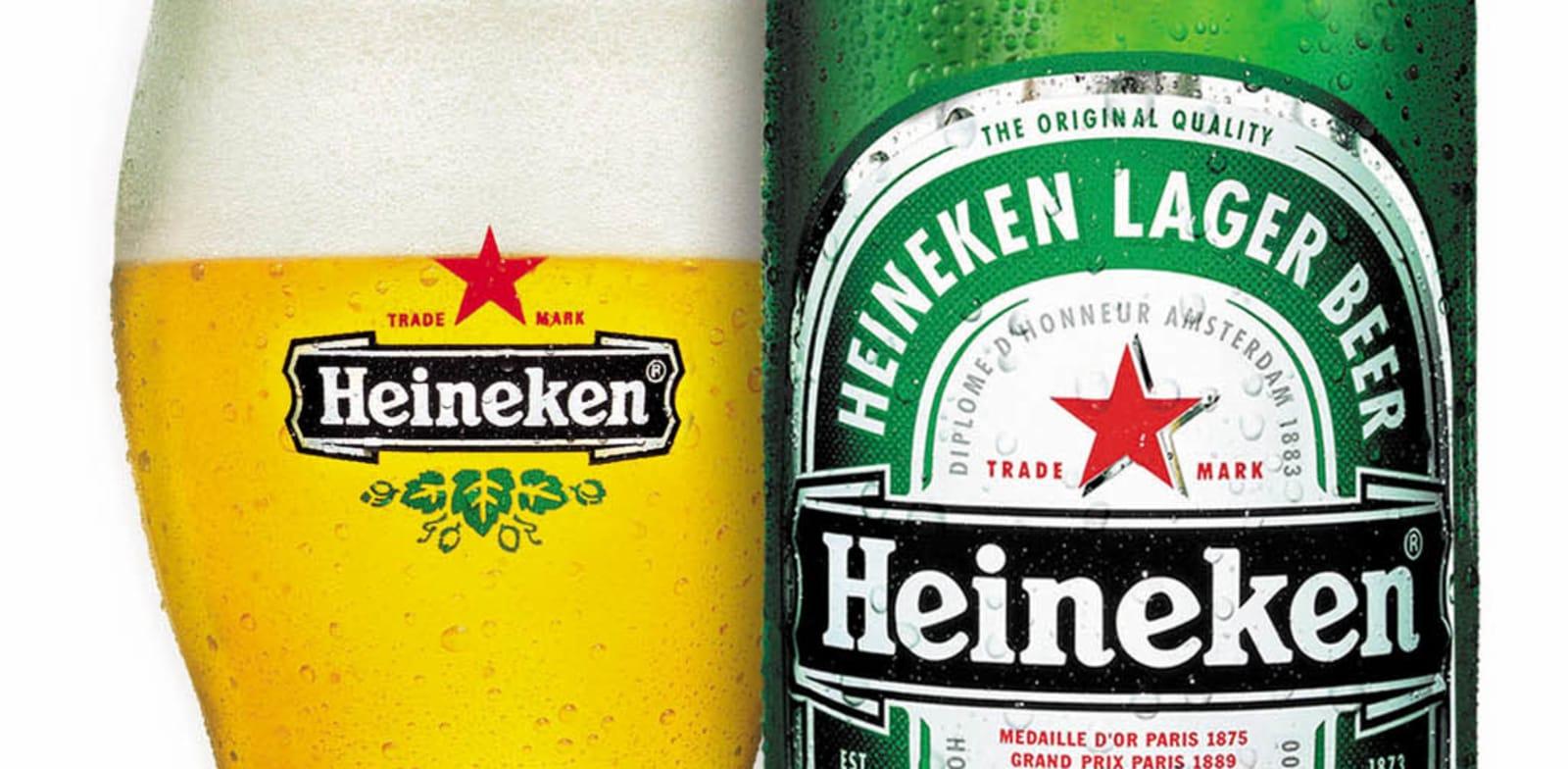"""בקבוק בירה הייניקן / צילום: יח""""צ"""