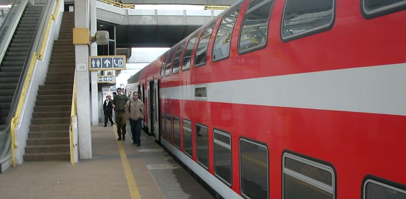 רכבת ישראל / צילום: צח בר-מנשה