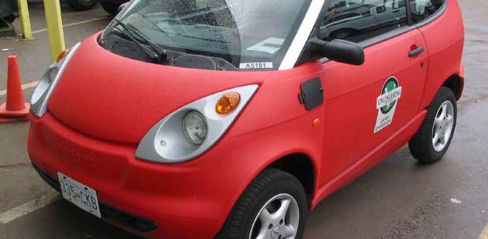 """מכונית חשמלית פורד think / צילום: יח""""צ"""