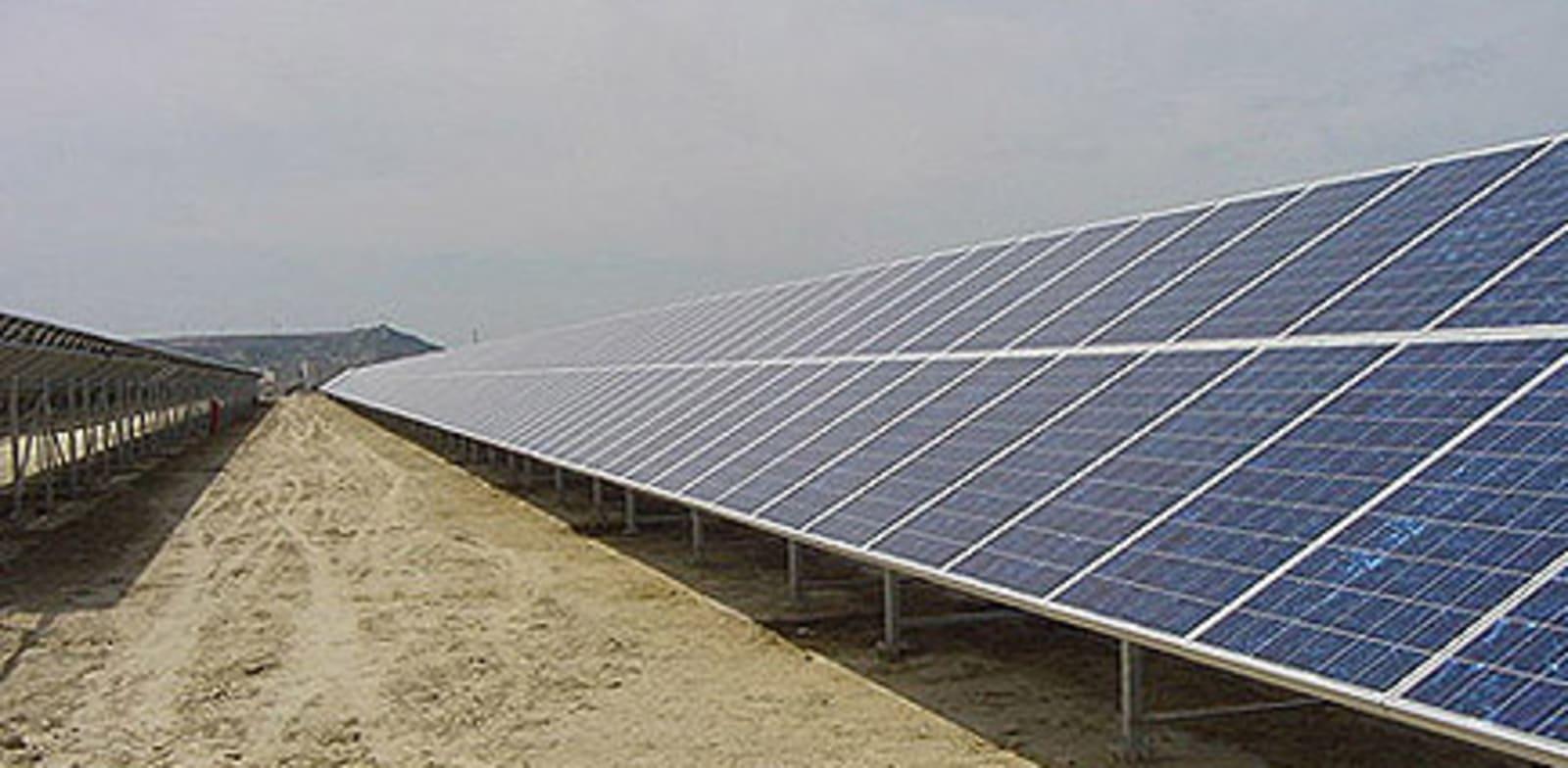 """פארק סולארי של שיכון ובינוי בספרד / צילום: יח""""צ"""