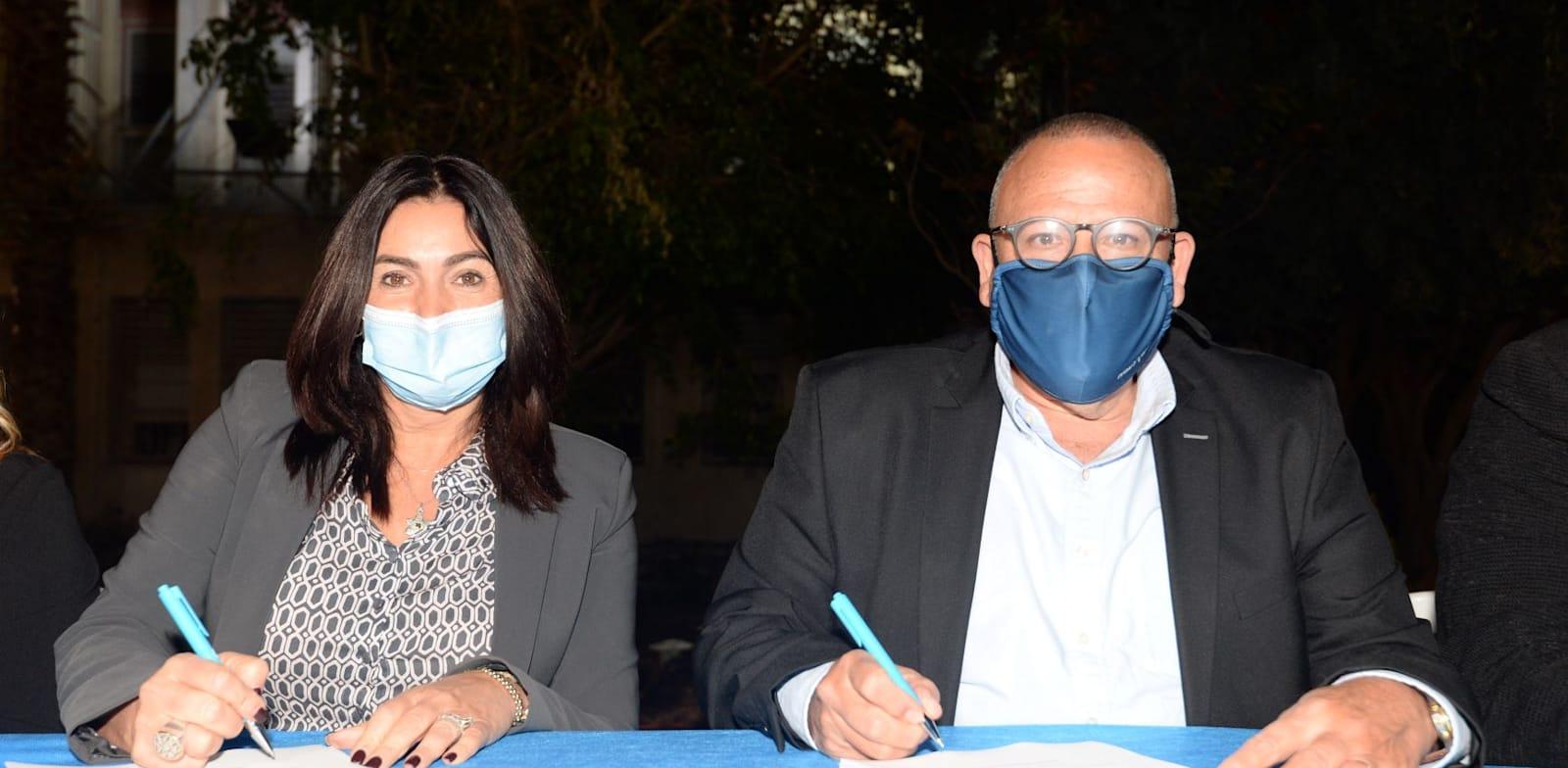 טקס חתימת הסכם / צילום: אגף הדוברות בהסתדרות