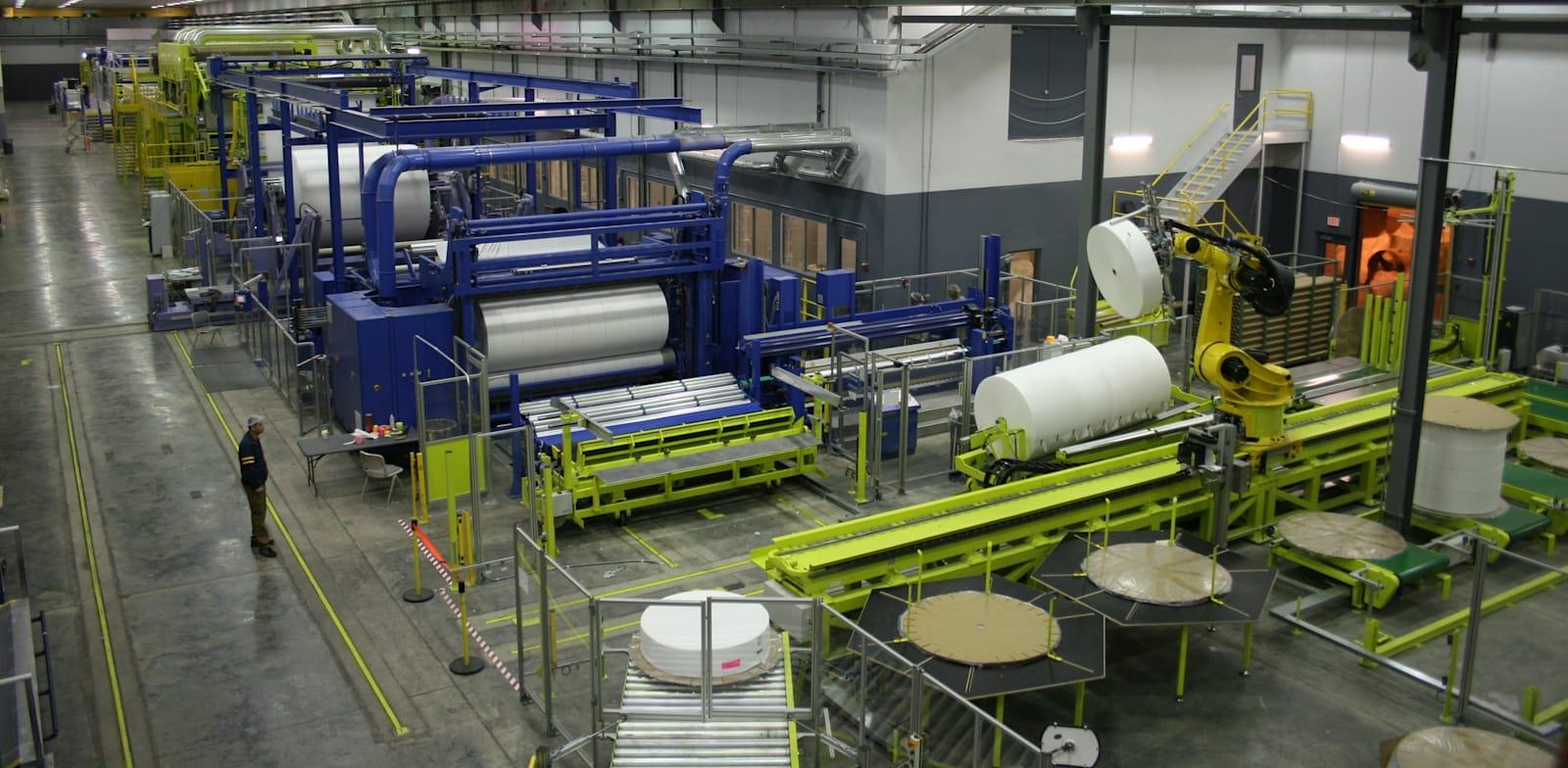 """מפעל ספאנטק בארה""""ב / צילום: יח""""צ"""