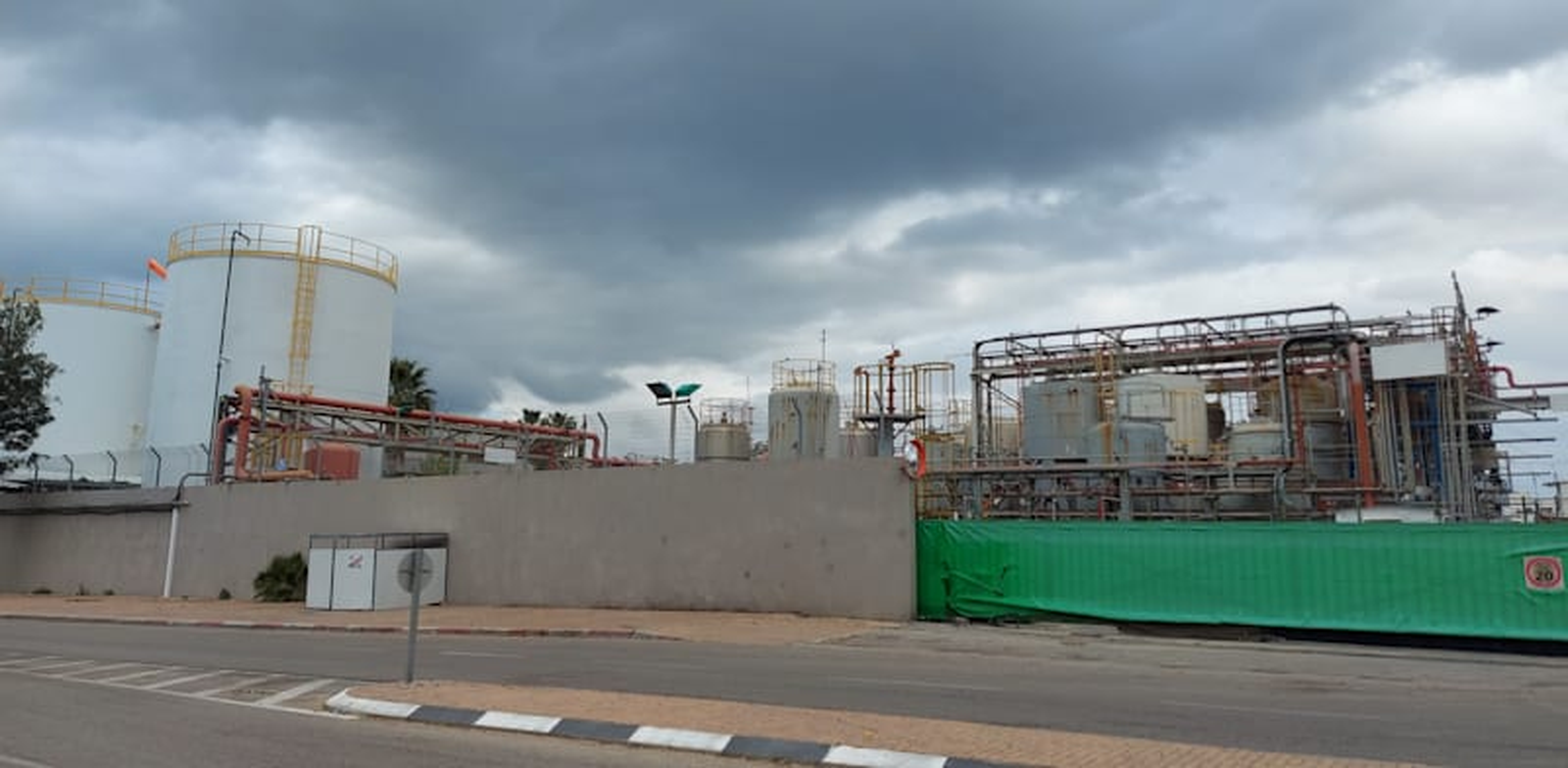 מפעל פלנטקס טבע שנסגר / צילום: תמר מצפי