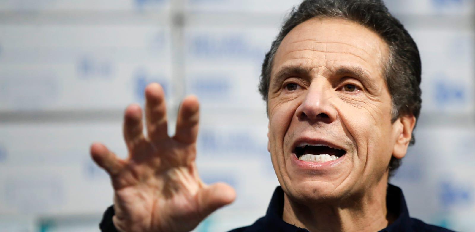 מושל ניו יורק אנדרו קואומו. די הרבה דמוקרטים הצטערו שקואומו לא הצטרף מבעוד מועד לתחרות על מועמדות מפלגתם לנשיאות / צילום: Associated Press, John Minchillo