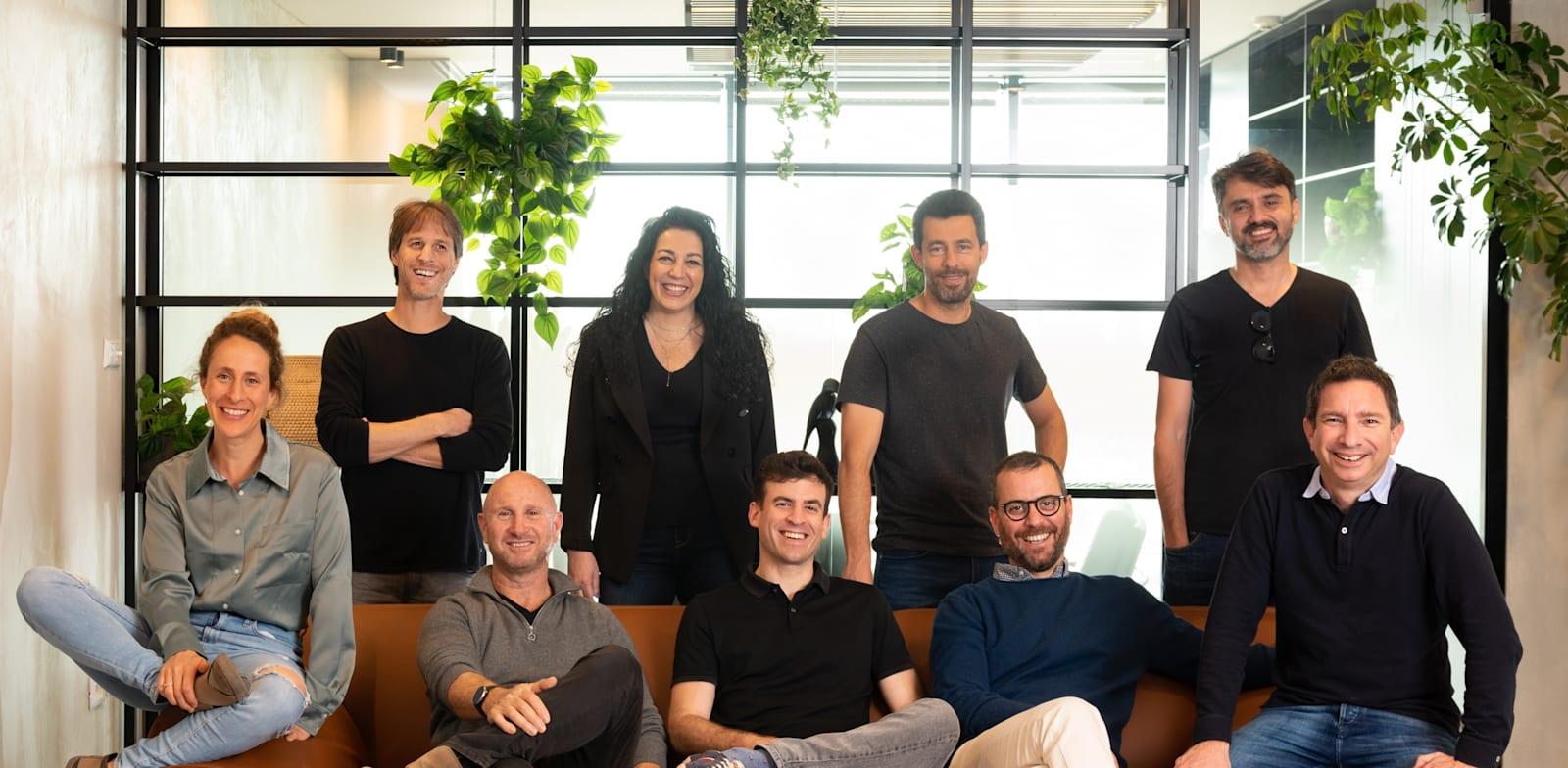 Seebo management  Photo: Yossi Masa