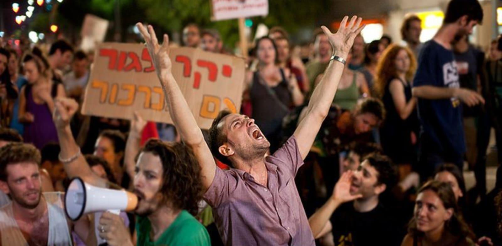 הפגנה-צדק חברתי / צילום: דימה וזינוביץ