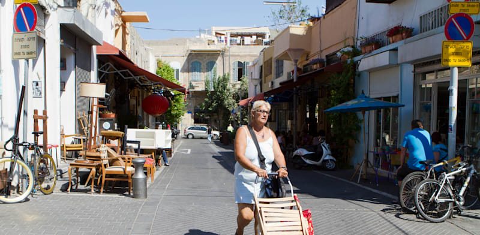 שוק הפשפשים ביפו / צילום: שלומי יוסף
