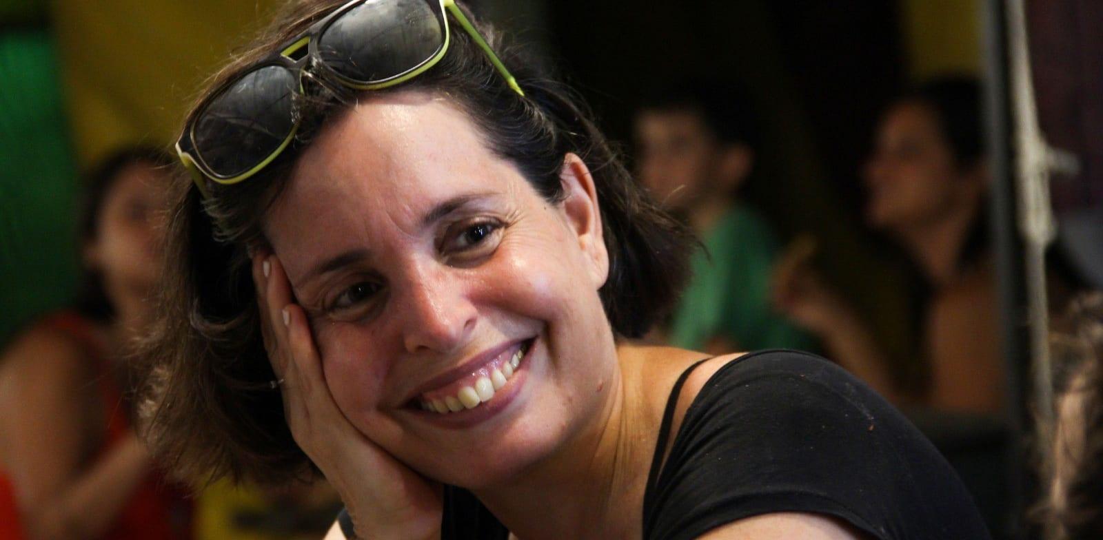 """גליה בקשיצקי, הבעלים של """"ארול"""", פיצרייה קפה / צילום: Dafni Ofer"""