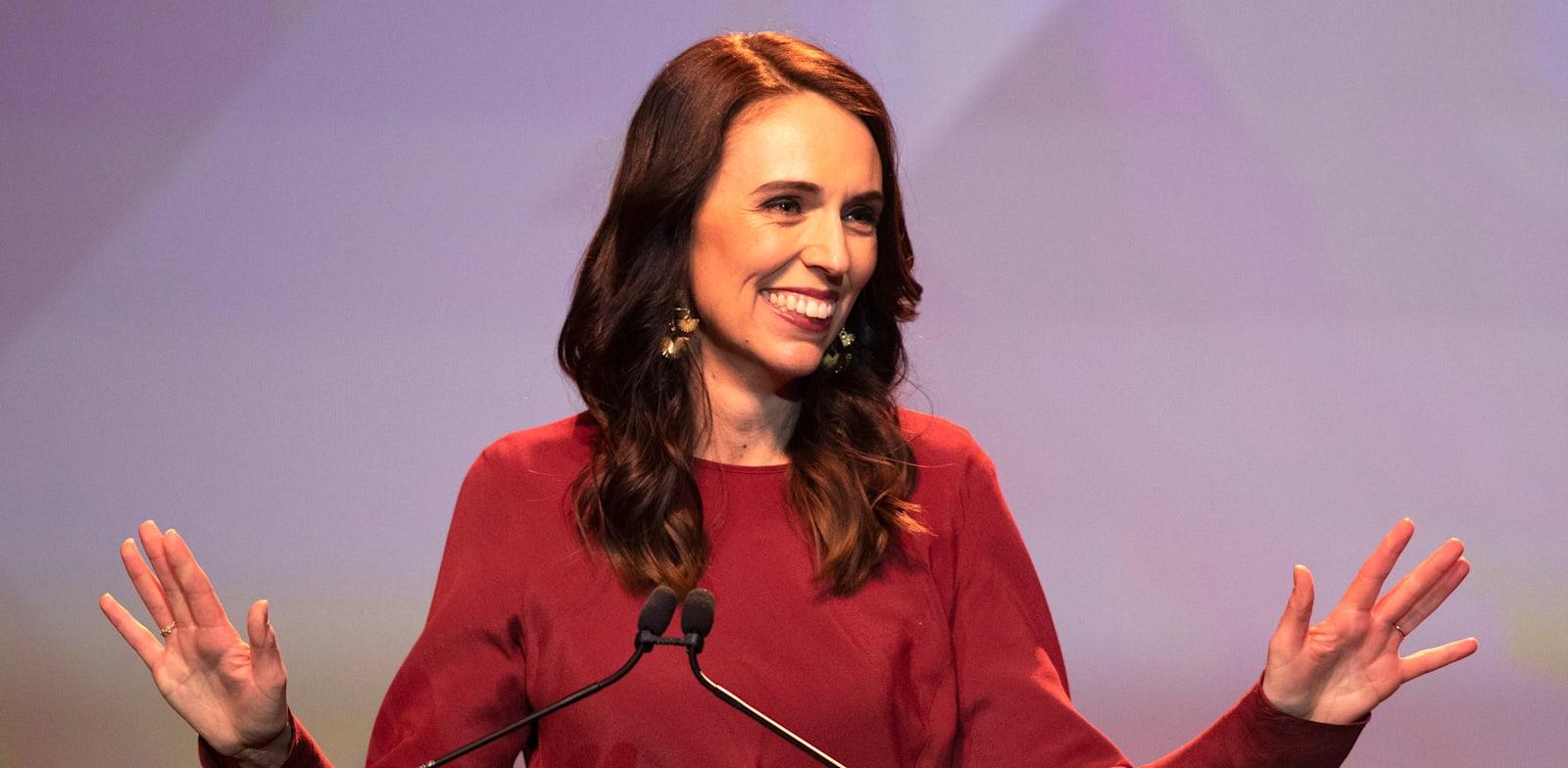 ג'סינדה ארדרן, ראשת ממשלת ניו זילנד / צילום: Associated Press, Mark Baker