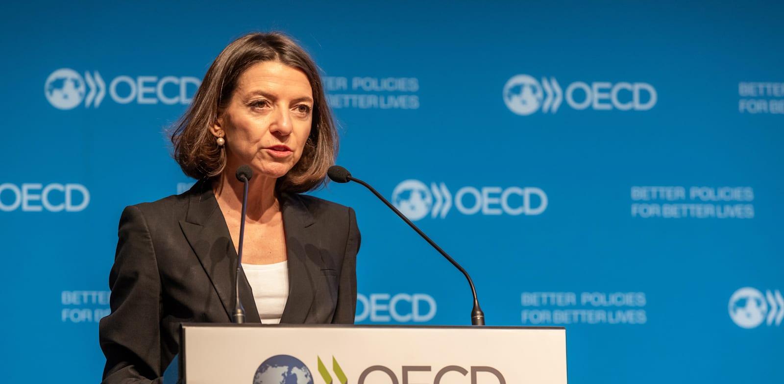 """ד""""ר לורנס בון, הכלכלנית הראשית ב-OECD / צילום: Victor Tonelli - OECD"""