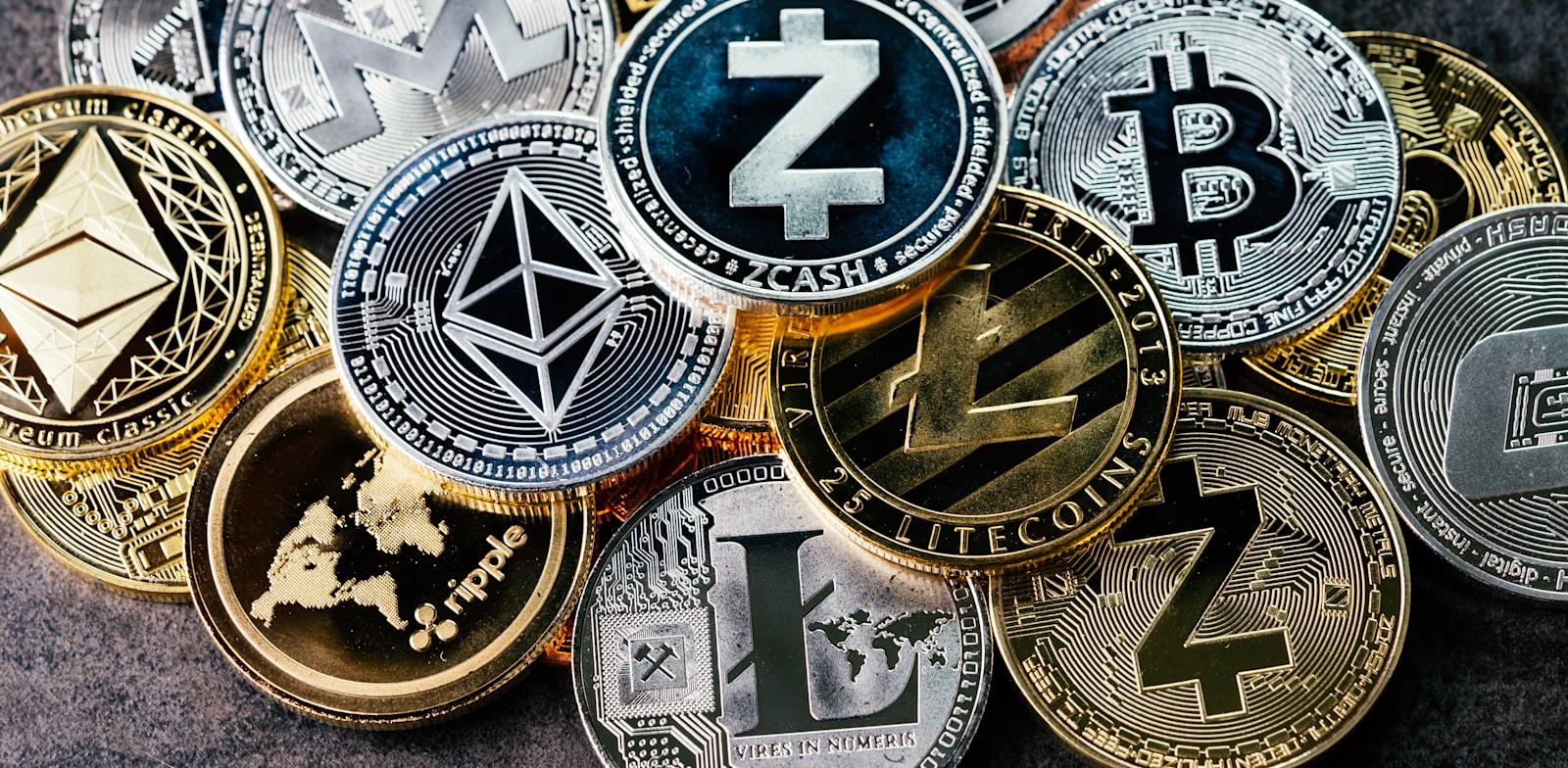 מטבעות קריפטו / צילום: Shutterstock, eamesBot