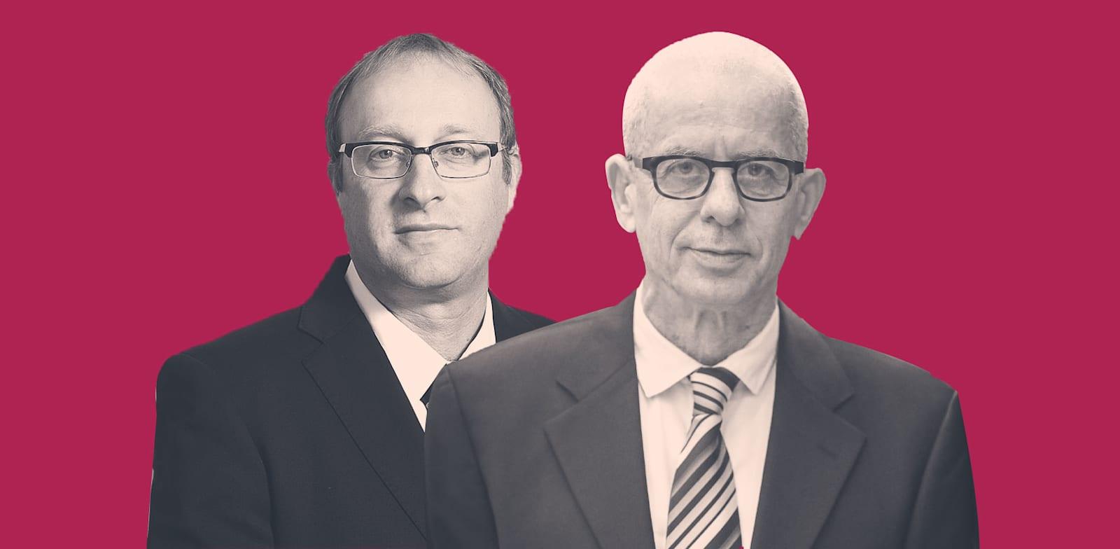 עורכי הדין גיורא ארדינסט ודור שחם / צילום: איל יצהר ושלומי יוסף