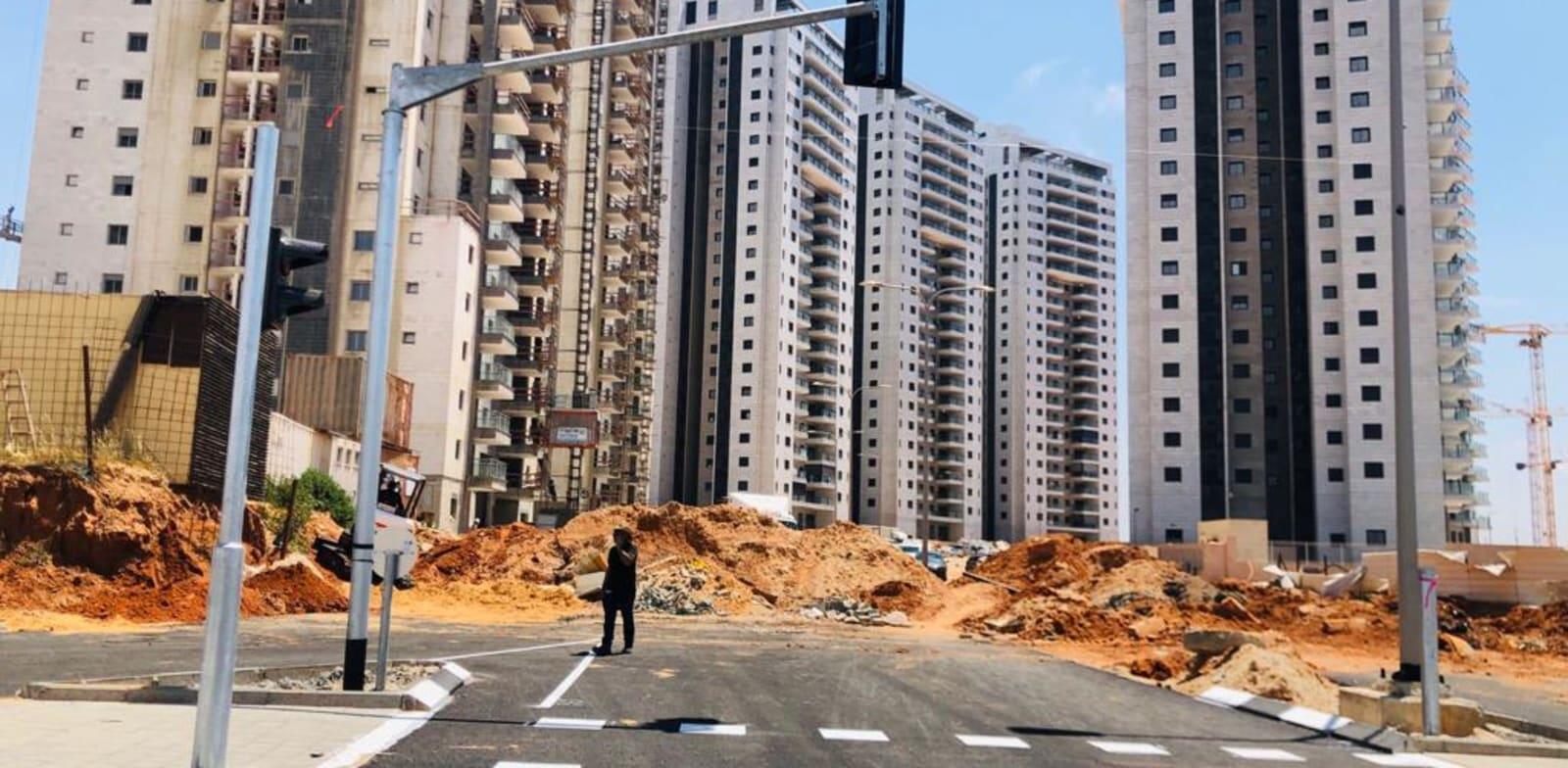 """שכונת נאות שמיר ברמלה / צילום: רמ""""י"""