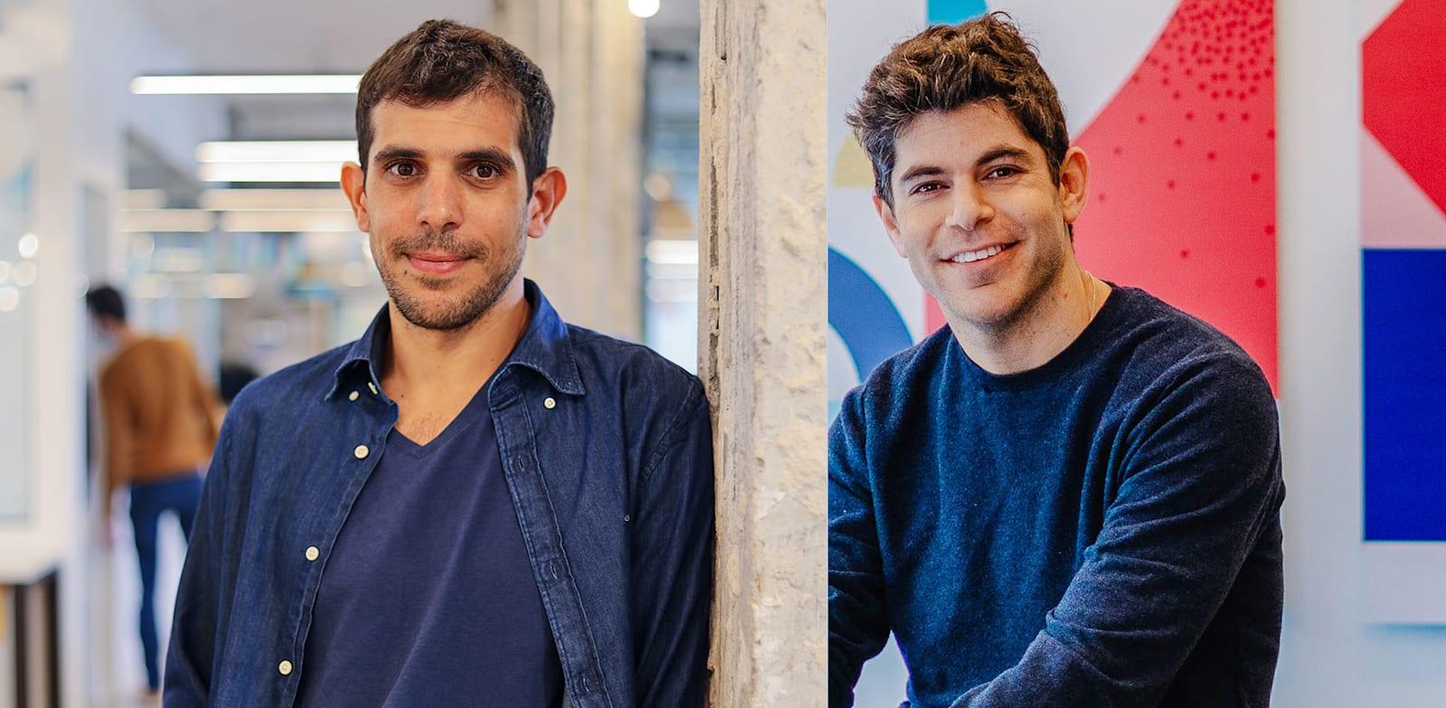 Omri Cohen and Tomer Tagrin. Credit: Mor Shani