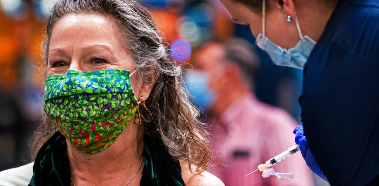 חיסון של מודרנה / צילום: Associated Press, Robert F. Bukaty