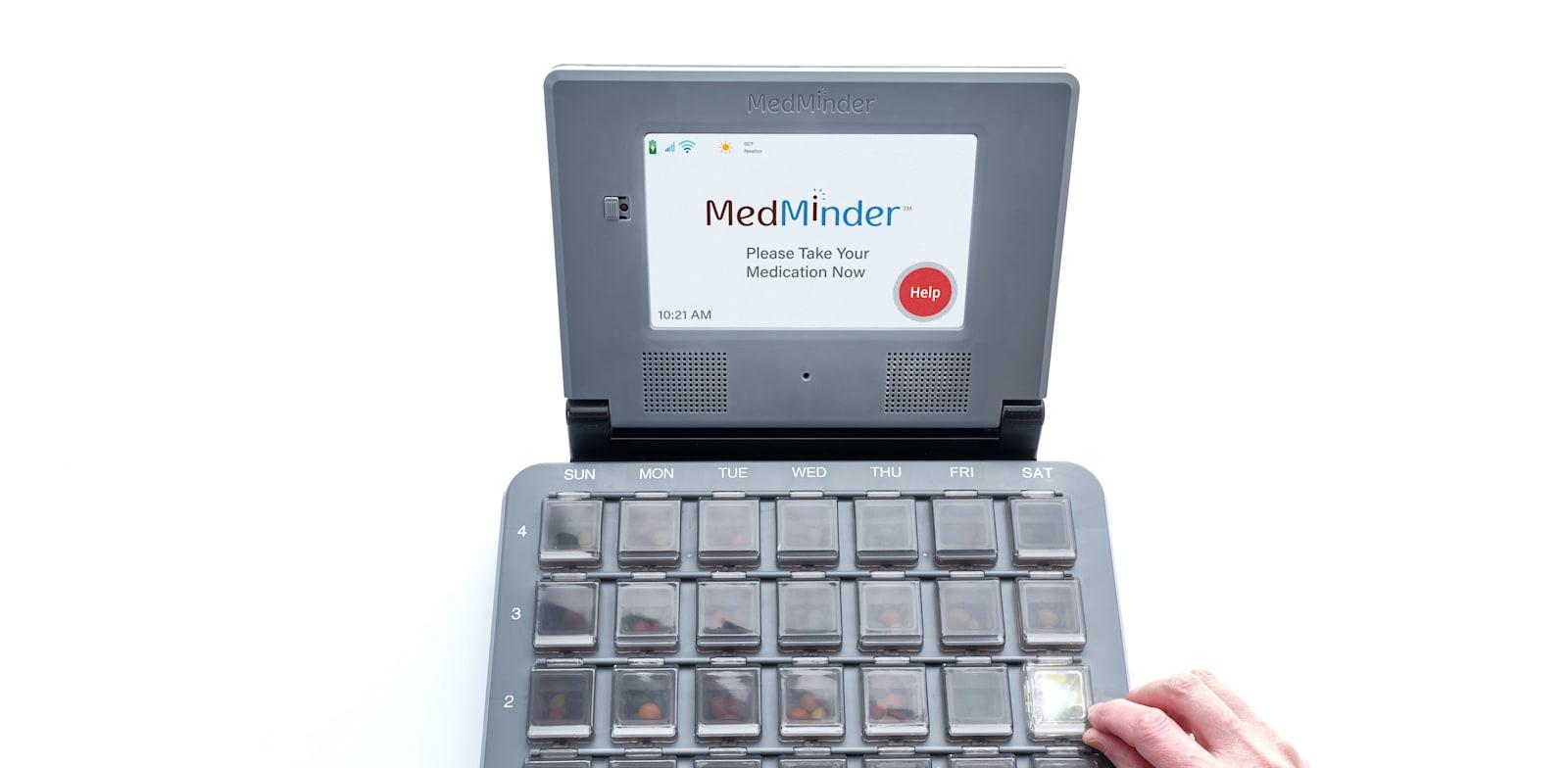 קופסת התרופות החכמה של מדימיינדר / צילום: מדימיינדר