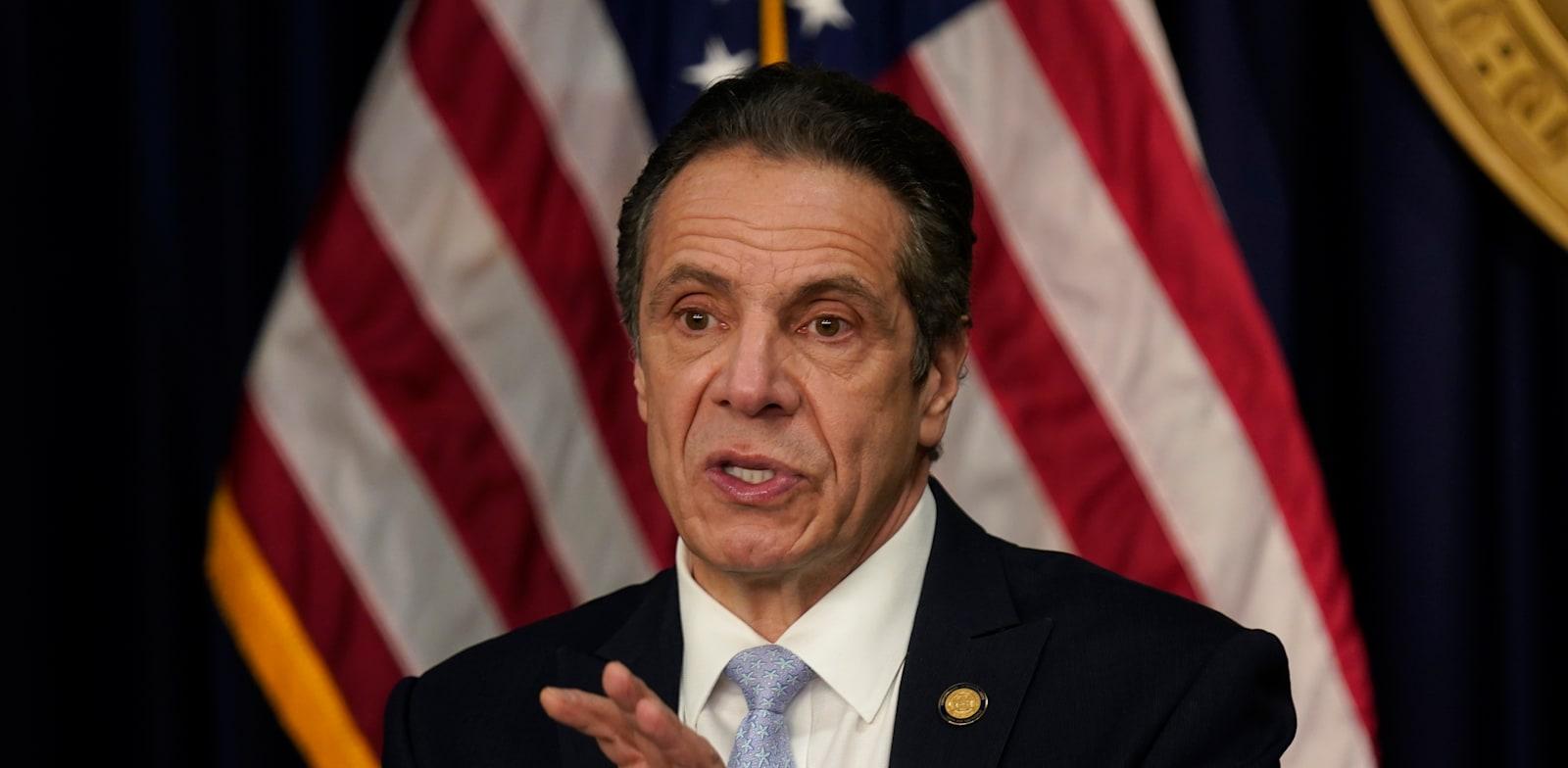 אנדרו קואומו, מושל מדינת ניו יורק / צילום: Associated Press, Seth Wenig