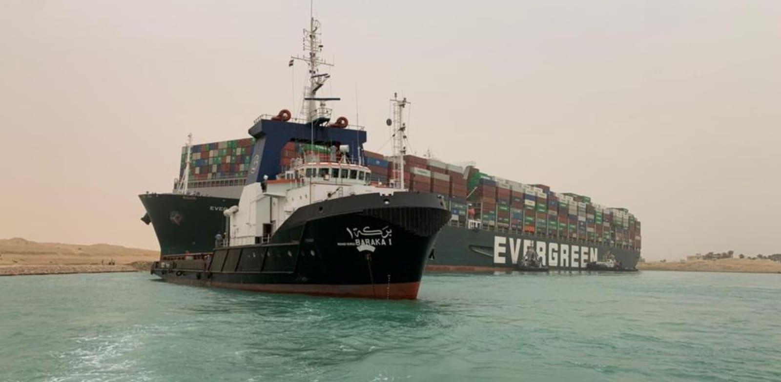 החשש הכבד איראן עומדת מאחורי התקיעה של האוניה והתנגשות הרכבות במצרים 2021-03-24T081116Z_1597834114_RC2JHM9WTYVR_RTRMADP_3_EGYPT-SUEZCANAL-SHIP_gnctha