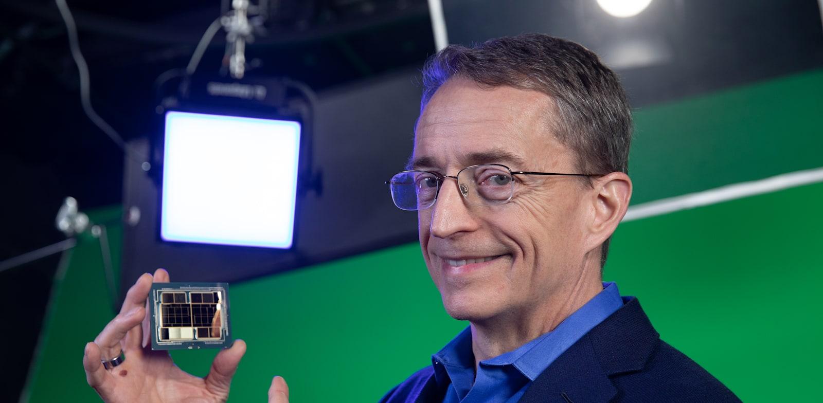 Intel CEO Pat Gelsinger Photo: Intel