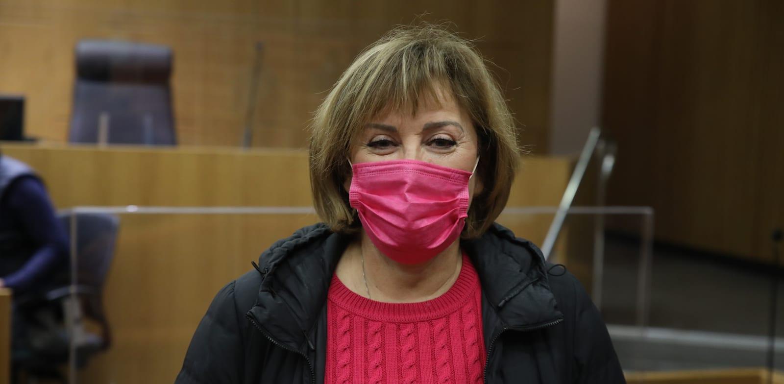 פאינה קירשנבאום בבית המשפט / צילום: כדיה לוי