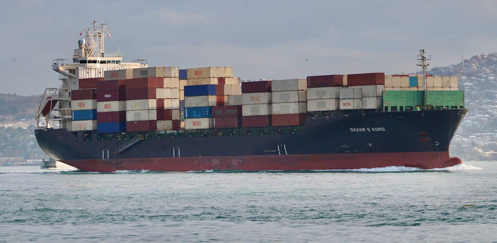 אוניית משא איראנית בדרכה לים התיכון בפברואר 2020 / צילום: Reuters, Yoruk Isik