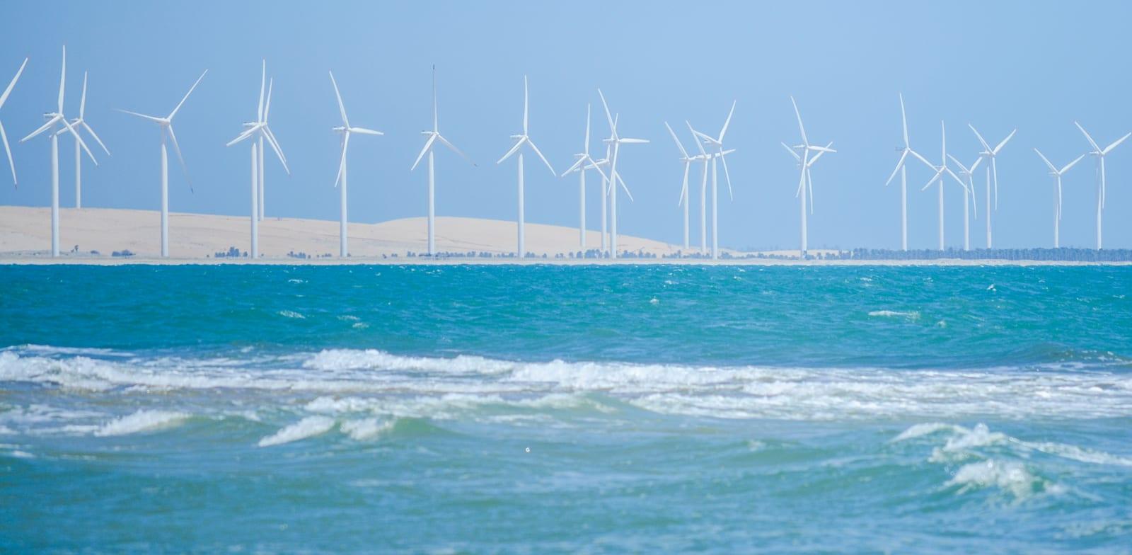 טורבינות רוח / צילום: Shutterstock, windwalk