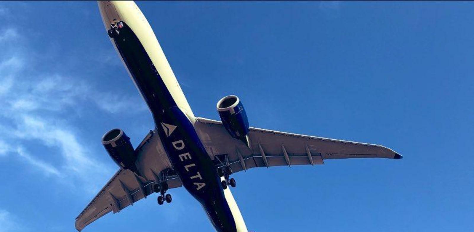 מטוס של דלתא איירליינס / צילום: מיכל רז-חיימוביץ'
